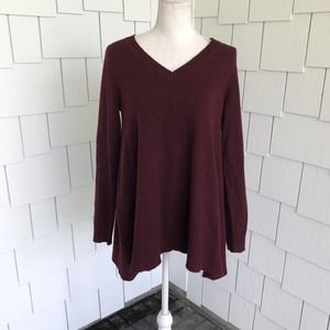 C by Bloomingdale's V-neck Cashmere Sweater Size S